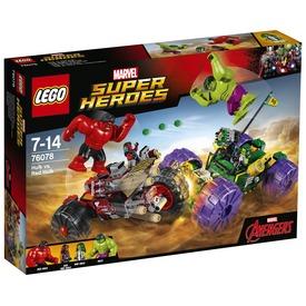 LEGO Super Heroes 76078 Hulk és Vörös Hulk összecsapása