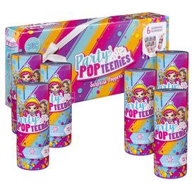 Party Popteenies 6 darabos meglepetés készlet