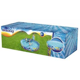Merevfalú tengeri állatos medence 244 x 46 cm