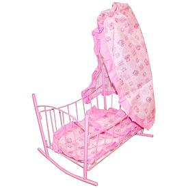 Baldachinos babaágy - rózsaszín Itt egy ajánlat található, a bővebben gombra kattintva, további információkat talál a termékről.