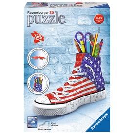 Amerika tornacipő 108 darabos 3D puzzle