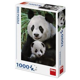 Puzzle 1000 db - Pandák