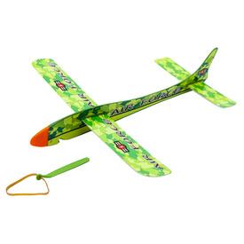 34x36 cm gumival kilőhető polisztirol repülő, 2 szín