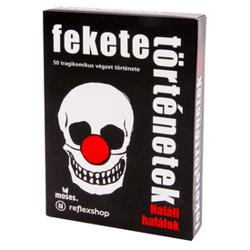 Fekete történetek - Haláli halálok kártyajáték