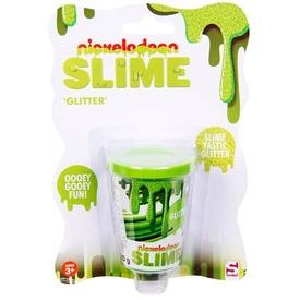 Nickelodeon csillámos slime - zöld, 80 g