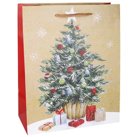 Papírtasak karácsonyfa 3346