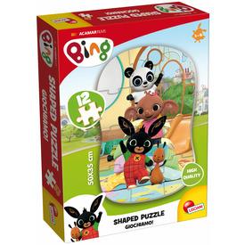 Bing első puzzle 12 darabos, Giochiamo