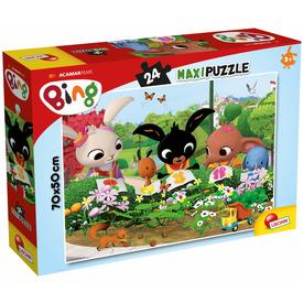 Bing maxi puzzle 24 db-os, 70x50cm, Kertészet