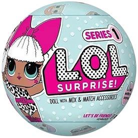 LOL Surprise meglepetés baba golyóban - nagy