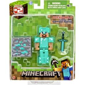Minecraft Steve gyémánt páncéllal - 7 cm Itt egy ajánlat található, a bővebben gombra kattintva, további információkat talál a termékről.