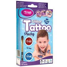 Fiús Mini TyToo Csillámtetoválás Szett