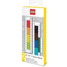 LEGO tetszés szerint építhető vonalzó (15cm /30cm)