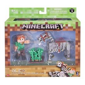 Minecraft szett Alex Lóval MIN Itt egy ajánlat található, a bővebben gombra kattintva, további információkat talál a termékről.