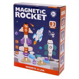 Mágneses rakéta építő játék