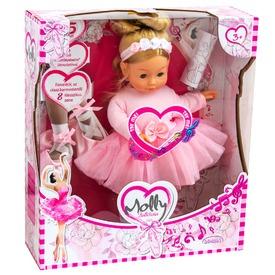 Bambolina Molly balerina baba - 42 cm