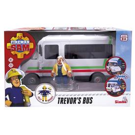Sam a tűzoltó Trevor és járműve