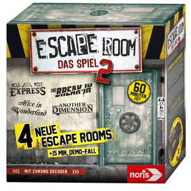 Escape Room The Game 2. 0 (4db játék, 16 +)