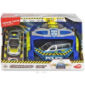Rendőrségi állomás két autóval + fény és hang