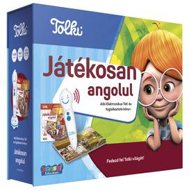 Tolki - Játékosan angolul szett (könyv +toll)