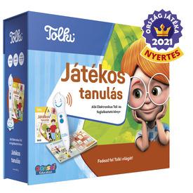 Tolki - Játékos tanulás szett (könyv +toll)