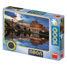 Puzzle 1000 db neon - Angyalvár
