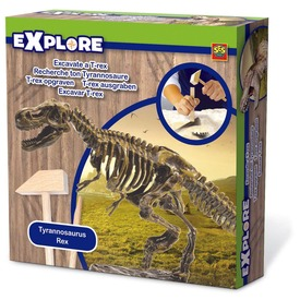 T-Rex dinoszaurusz bányász készlet