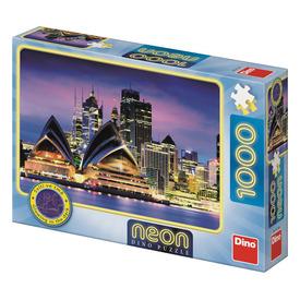 Puzzle 1000 db neon - Sidney-i Operaház