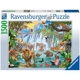 Puzzle 1500 db - Csodás vízesés