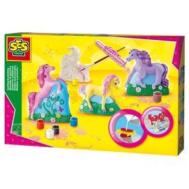 Gipszkiöntő játék - 3Ds lovacskák
