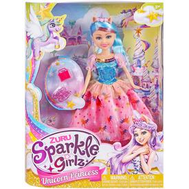 Sparkle girlz - Unikornis hercegnő baba 30cm