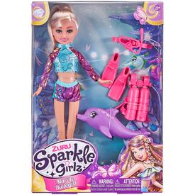 Sparkle girlz játékszett 30cm babával