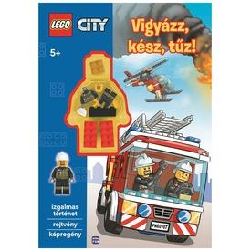 LEGO City Vigyázz, kész, tűz könyv