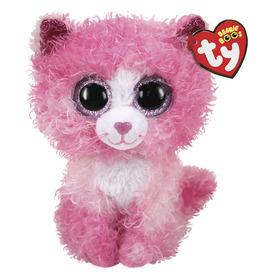 Beanie Boos REAGAN rózsaszín macska 15cm