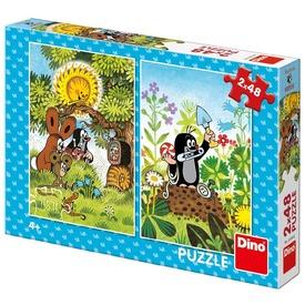 Puzzle 2x48 db - Kisvakond