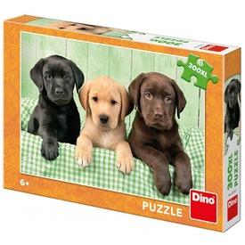 Puzzle 300 db XL - kutyatesók