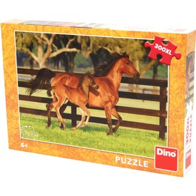 Ló és csikó 300 darabos XL puzzle