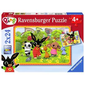Puzzle 24 db - Bing és barátai