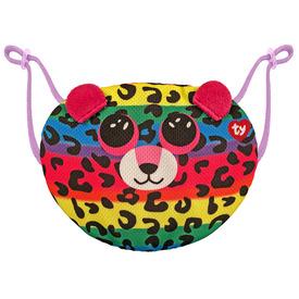 TY arcmaszk DOTTY színes leopárd
