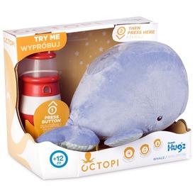 Octopi interaktív bálna plüssfigura - 30 cm