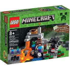 LEGO Minecraft A barlang 21113 Itt egy ajánlat található, a bővebben gombra kattintva, további információkat talál a termékről.
