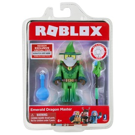 Roblox figura Emerald dragon master RBL