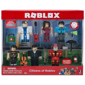 Roblox Citizens figura 6 darabos készlet