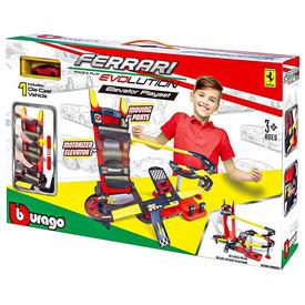 Bburago Ferrari autópálya lifttel + 1 autó