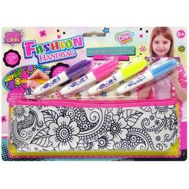 Kifesthető tolltartó filctollakkal