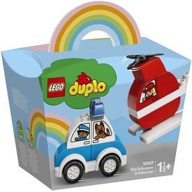 LEGO DUPLO My First 10957 Tűzoltó helikopter és rendőrautó