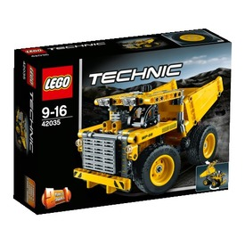 LEGO Technic Bányadömper 42035 Itt egy ajánlat található, a bővebben gombra kattintva, további információkat talál a termékről.