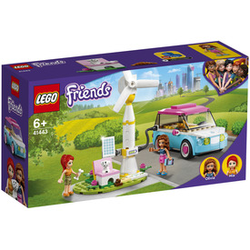 LEGO Friends 41443 Olivia elektromos autója