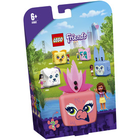 LEGO Friends 41662 Olivia flamingós dobozkája