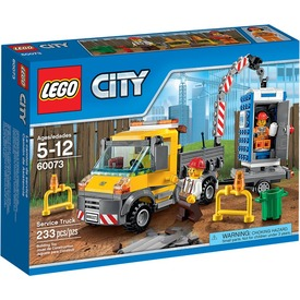 LEGO City Szervizkocsi 60073 Itt egy ajánlat található, a bővebben gombra kattintva, további információkat talál a termékről.