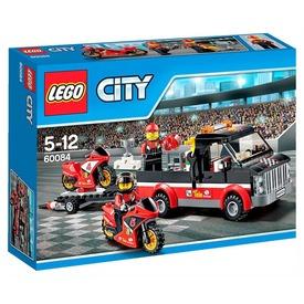 LEGO City Versenymotor szállító kamion 60084